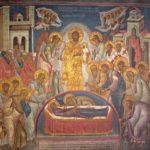 Успение Пресвятой Богородицы. Сербия. монастырь Высокие Дечаны, XIV век
