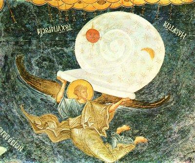 Ангел, свивающий небеса. Мон-рь Хора