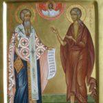 Святитель Андрей Критский и преподобная Мария Египетская