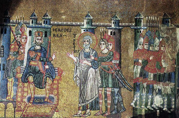 Апостол Пётр перед царем Иродом
