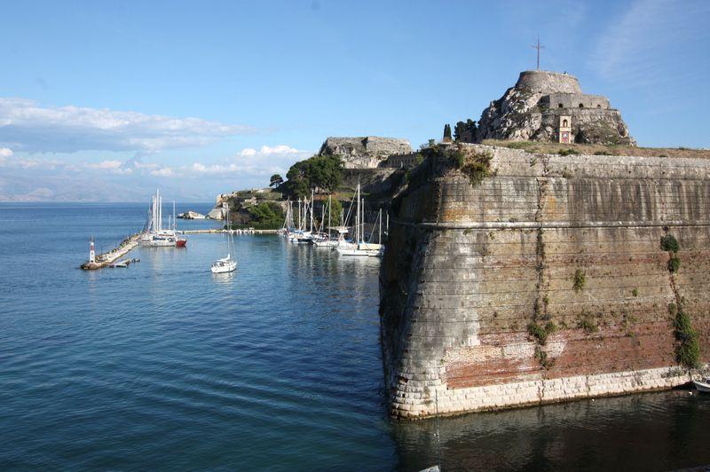 Укрепления острова Корфу